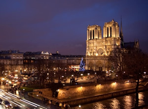 Hotel Notre Dame Saint Michel Cathedral And Seine River 5th