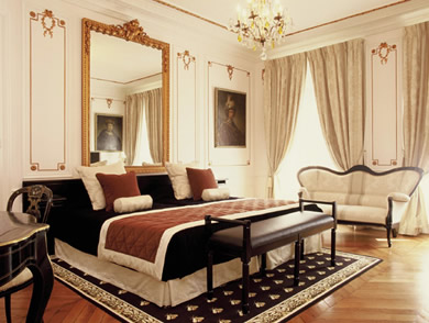The 17 Recently Red Rooms Feature High Ceilings Crystal Chandeliers And French Antiques